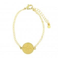 Armband Kompass, gold 0