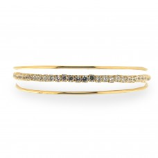 Armreif Felicidat, gold crystal 0