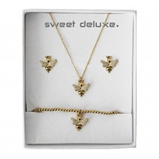 Box small bee gold 0