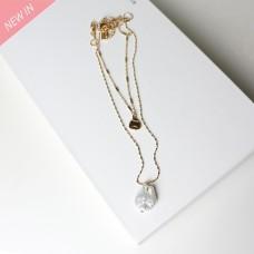 Kette Carolina, gold pearl 0