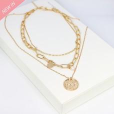 Kette Esperanza, gold perle 0