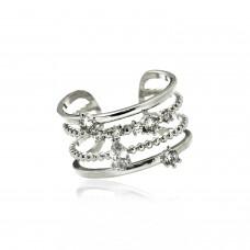Ring Avelina, silber crystal 0