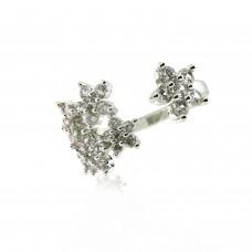 Ring Fawini, silber crystal 0