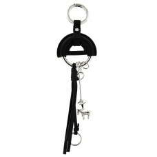 Schlüsselanhänger little horse, schwarz silber 0