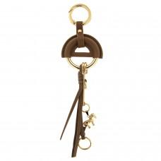 Schlüsselanhänger little horse, taupe gold 0